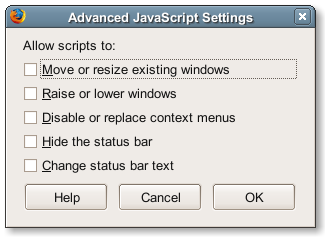 Advanced JavaScript Setting