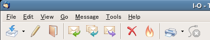 Toolbar/Main Window