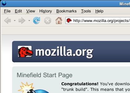 Firefoxメインウィンドウ