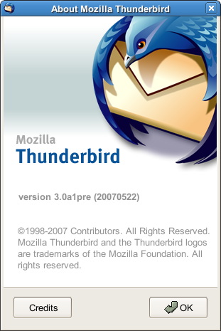 About Thunderbird