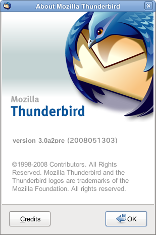 About Thunderbird