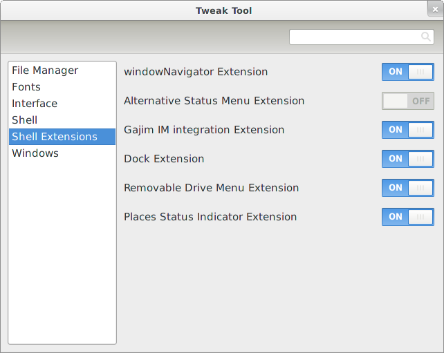 GNOME Tweak Tool 3.0.4