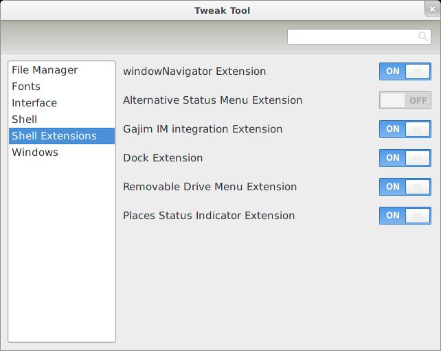 GNOME Tweak Tool 3.0.4