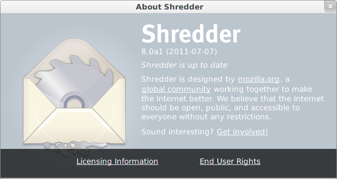 About Shredder
