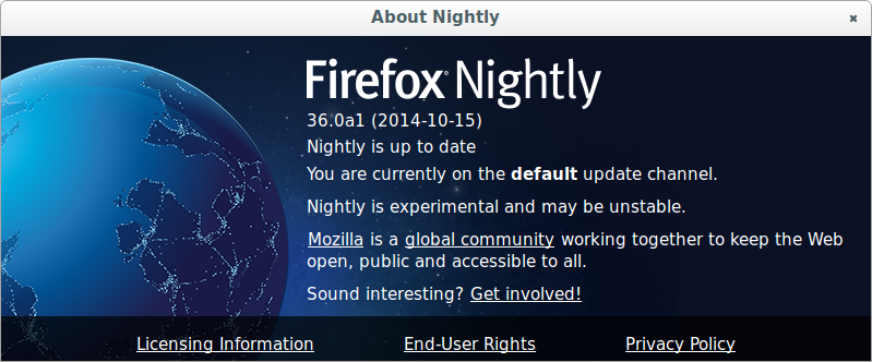 About:Nightly